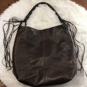 Tod's boho tassel shoulder bag